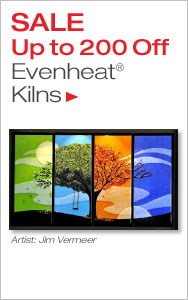 Up to $200 Off Evenheat Kilns