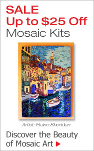 Up to $25 Off Mosaic Beginner Kits
