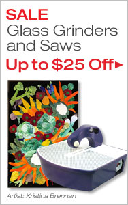 Up to $25 Off Glass Ginders and Saws