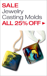 Jewelry Casting Molds All 25% Off