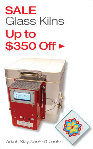 Up to $350 Off Glass Kilns