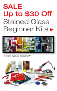 Up to $30 Off Stained Glass Beginner Kits