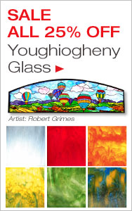 Youghiogheny Glass All 25% Off