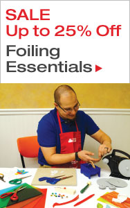 Up to 25% Off Foiling Essentials