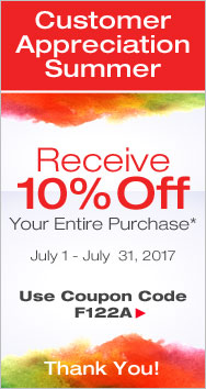 We Appreciate You - Take 10% Off