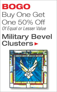 BOGO 50% Off Military Bevel Clusters