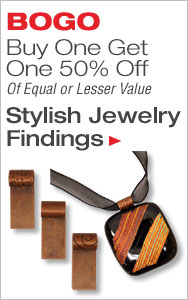 BOGO 50% Off Stylish Jewelry Findings