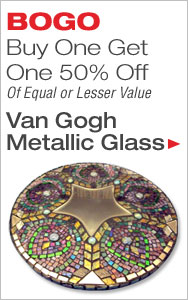 BOGO 50% Off Van Gogh Glass
