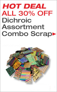 HOT DEAL Dichroic Scrap