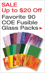Up to $20 Off Gorgeous 90 COE Glass Packs