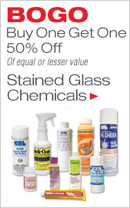 BOGO 50% Off Stained Glass Chemicals