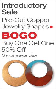 BOGO 50% Off Copper Jewelry Shapes