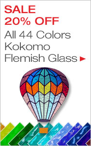 20% Off Kokomo Flemish Glass