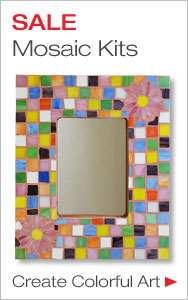 Get Started Making Mosaics with Savings on Fun Kits
