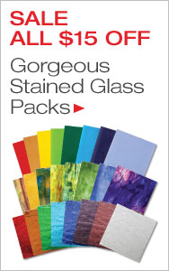 Stained Glass Packs All $15 Off