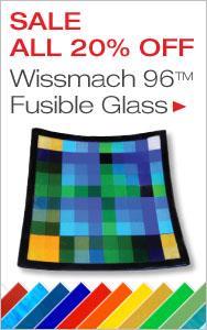 20% Off Wissmach 96 COE Glass