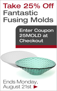25% Off Fusing Molds