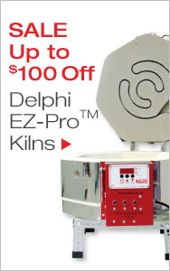 EZ-Pro Kilns Up to $100 Off