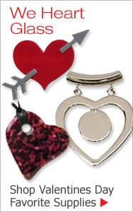 Valentines - We Heart Glass