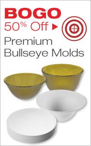 BOGO 50% Off Bullseye Molds