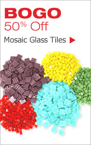 BOGO 50% Off Mosaic Tiles