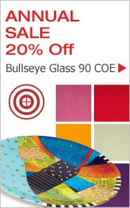 Annual Bullseye Glass Sale