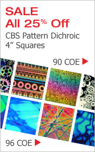 CBS Pattern Dichroic Squares