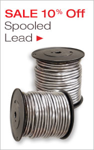 Spooled Lead Sale