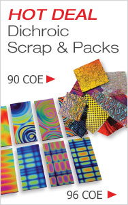 HOT DEAL Dichroic Scrap & Packs