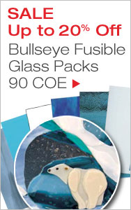 Up to 20% Off Bullseye Fusible Glass Packs