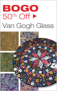 BOGO 50% Off Van Gogh Glass
