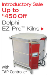 Delphi EZ-Pro Kilns with TAP Controller Intro Sale