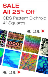 CBS Pattern Dichroic Squares 25% Off - 90
