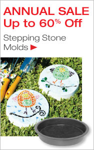 Annual Stepping Stone Mold Sale