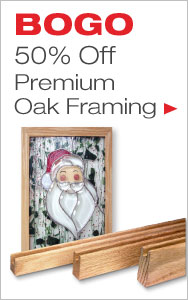 BOGO 50% Off Oak Framing