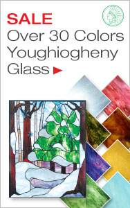 Save on Over 30 Colors of Youghiogheny Glass