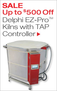 Up to $500 Off EZ-Pro Kilns