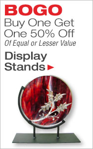 BOGO 50% Off Display Stands