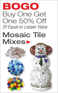 BOGO 50% Off Mosaic Tile
