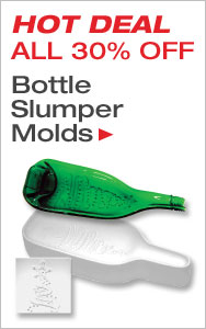 Hot Deal Bottle Slumper Molds