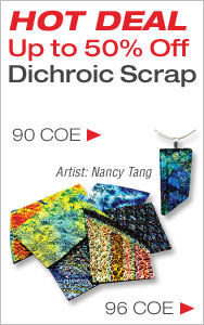 HOT DEAL Dichroic Scrap Up to 50% Off