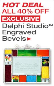 40% Off Exclusive Delphi Studio Bevels