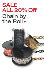Save on Chain by the Roll - All 20% Off