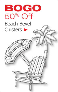 Beach Bevel Clusters BOGO