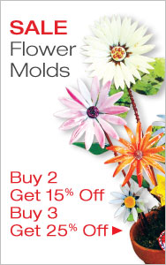 Flower Molds Buy More & Save