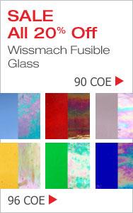 Wissmach Glass Sale - 90 COE