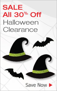 Halloween Clearance All 30% Off