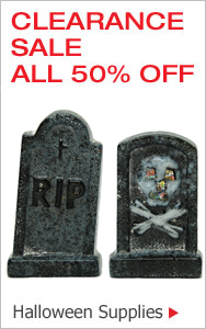 Halloween Clearane All 50% Off