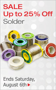 Web Exclusive Solder Sale