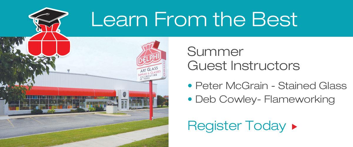 Summer 2015 Guest Instructors
